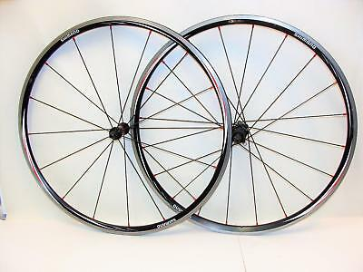 7898754d3d7 VERY NICE Shimano WH RS-10 700c Clincher Wheelset 9/10 Speed Wheels ...