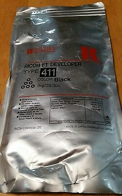 Ricoh Type 411 Ft Developer Black 1 Kg