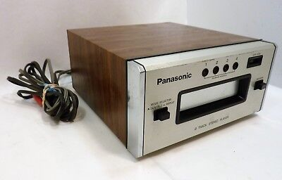 Vintage Panasonic RS807 8 Track Player Tested