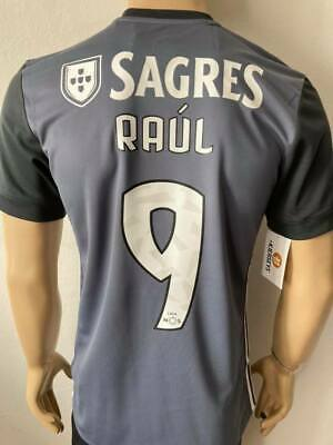 4720a741e Benfica Shirt Away 2016 2017 Raul Jimenez Name Set Badge America Adidas  Jersey