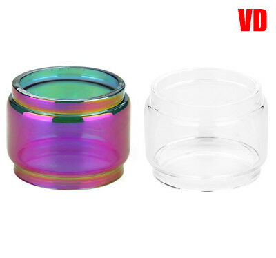 VD Glass Tube For SMOK TFV12 Prince | FatBoy Bubble Bulb Extended | UK STOCK
