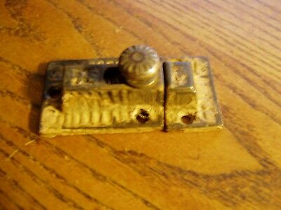 Antique victorian  Cast Iron Cabinet Cupboard Door Latch  LOT c
