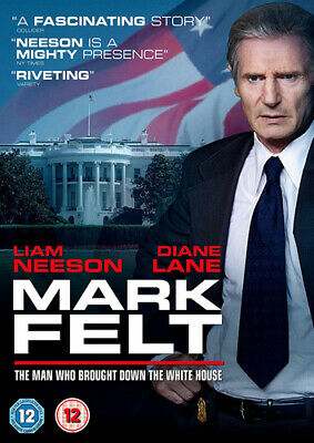 Mark Felt - The Man Who Brought Down the White House DVD (2018) Liam Neeson,