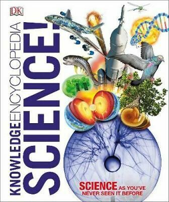NEW Knowledge Encyclopedia Science! By  DK Hardcover Free Shipping