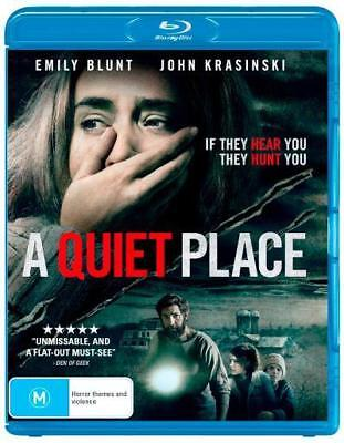 NEW A Quiet Place Blu Ray Free Shipping