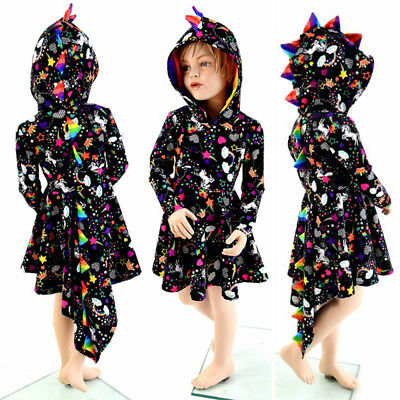 AU Newborn Baby Girl Halloween Rainbow Party Tutu Dress Cosplay Outfits Clothes