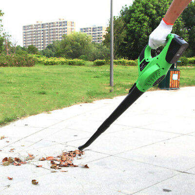 Cordless Leaf Blower Handheld 120MPH Sweeper 20V Li-ion Battery Charger Included
