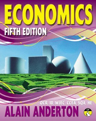 A Level Economics Student Book By Mr Alain Anderton