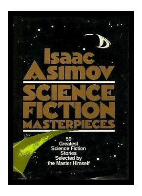 Isaac Asimov: Science Fiction Masterpieces Paperback Book The Cheap Fast Free