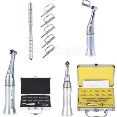 Dental 4:1 Reduction Contra Angle Handpiece IPR Interproximal Strips Sets