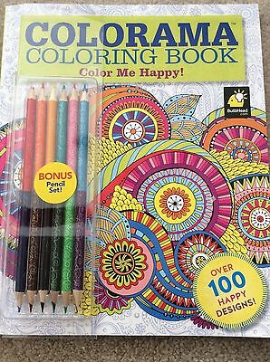 new colorama coloring book as seen on tv brand 6 two sided