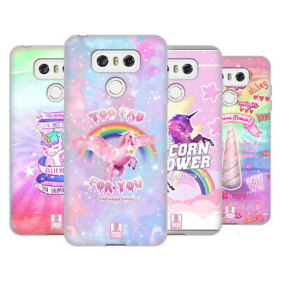 Head Case Designs Unicorn Power! Soft Gel Case For Lg Phones 1