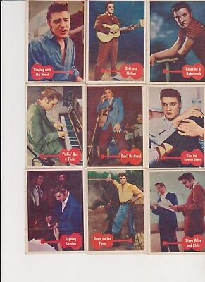 SET BREAK !! 1956 Elvis Bubbles~ PICK ONE CARD/MULTIPLE CARDS GLOSS/NO CREASES
