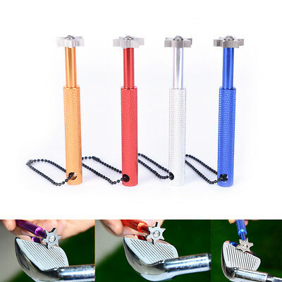 Groove Wedge & Iron Golf Club Regrooving Tool Sharpener & Cleaner with CasePR