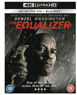 The Equalizer DVD (2018) Denzel Washington ***NEW***