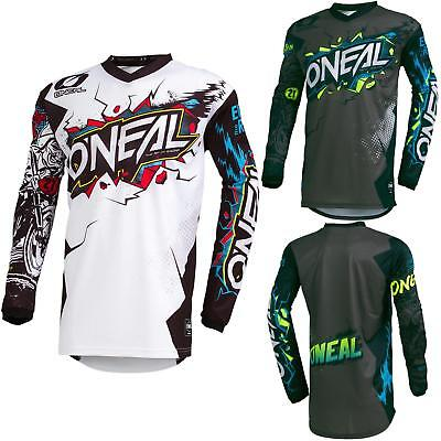 O'Neal Element Villain Motocross Jersey Enduro MX MTB FR DH Trikot Mountain Bike