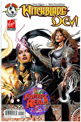 WITCHBLADE DEVI #1A & B Covers IMAGE TOP COW COMICS