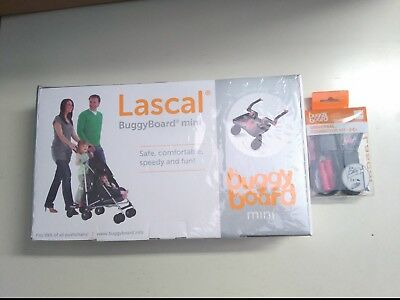 Lascal buggy board mini y Lascal BuggyBoard Universal conector Kit