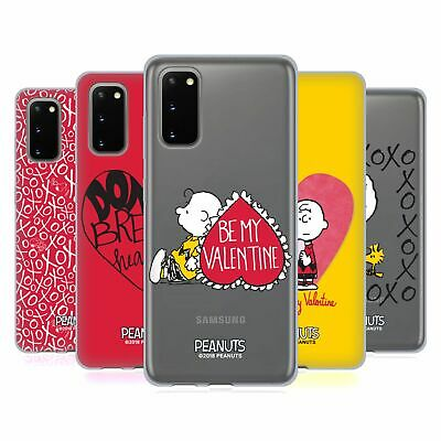 Official Peanuts Sealed With A Kiss Soft Gel Case For Samsung Phones 1