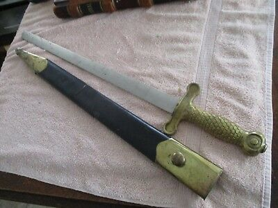 Antique Ceremonial Sword w. scabbard from Odd Fellows Lodge