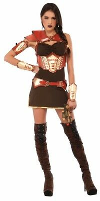 Steampunk Armor Belt Adult Womens Belt Faux Leather Adjustable With Weapon Loop