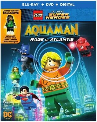 Lego Dc Super Heroes: Aquaman - Rage Of Atlantis (Blu-ray New)