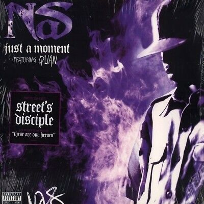 Nas Just A Moment / These Are Our Heroes Vinyl Single 12inch NEAR MINT
