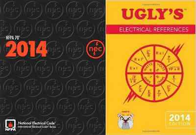 NFPA 70: National Electrical Code (NEC) Paperback & Ugly's Electrical Ref, 2014