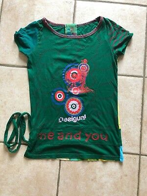 Femme Shirt T Cible You M Desigual Eur And Taille Cocarde Me OZBZ56nq
