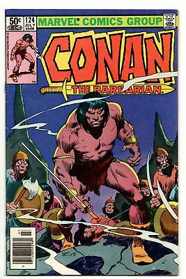 Conan The Barbarian #124 (Marvel, 1981) FN-