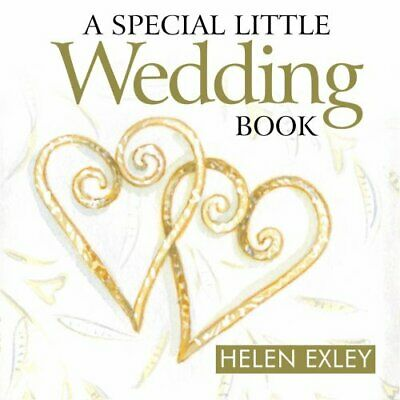 A Special Little Wedding Book: 1 (Gift Book) by Helen Exley Book The Cheap Fast