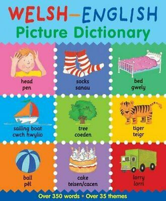 Welsh-English Picture Dictionary by Catherine Bruzzone, Louise Millar Book The