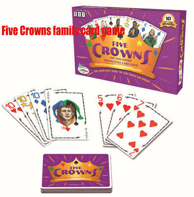Five Crowns family card game With Five Royal Families Brand New