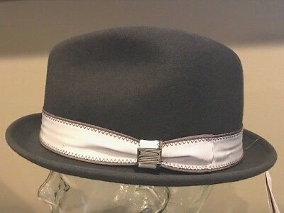 45055539db8 Bollman Bailey Quality LiteFelt Crushable Fedora Wool Hat Cap Large USA   100+