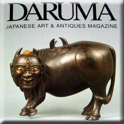 Daruma Magazine English 52 Japanese Antique Netsuke Ukiyo-e Prints Tea Ceremony