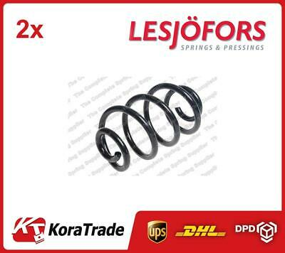 2 x LESJOFORS SUSPENSION REAR COIL SPRING X2 PCS LS4272963