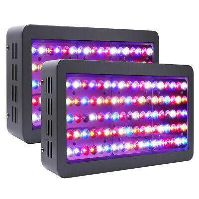 VIPARSPECTRA Reflector-Series 2pcs 450W LED Grow Light for Plant VEG and BLOOM