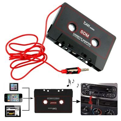 Universal Car Audio Tape Cassette Decks To Jack AUX Fit MP3 iPhone 3.5mm Adapter