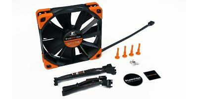 Noctua NF-F12 PWM Linus Tech Tips Edition 120mm Cooling Fan (Orange and Black)