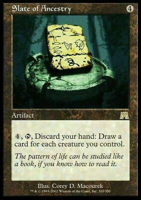 Slate of Ancestry ~ Onslaught ~ Excellent+ ~ Magic The Gathering