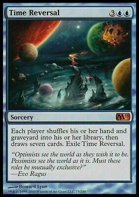 Time Reversal ~ Magic 2012 ~ NearMint/Excellent+ ~ Magic The Gathering