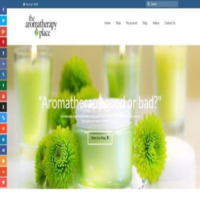 Fully Stocked Dropshipping AROMATHERAPY Website Business + Domain