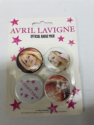 avril lavigne badge pack