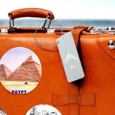 Travel Suitcase Tag Luggage Identity Address Name Labels 6A