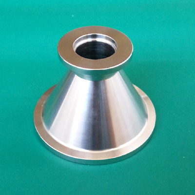 Stainless Steel 304 KF-40 to KF-16 Conical Reducer Vacuum Fitting Adapter
