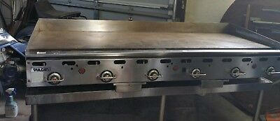 "Vulcan Hart Commercial 72 "" Used Grill"