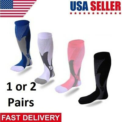 Copper Infused Support Compression Socks 20-30mmHg Graduated Mens Womens S-XXL