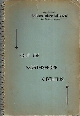 Two Harbors Mn 1949 Antique Out Of Northshore Kitchens Cook Book Lutheran Church