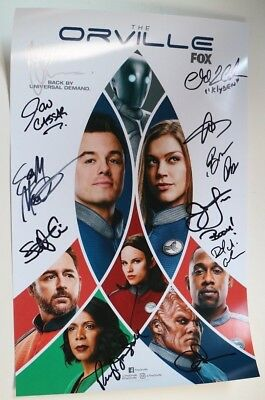 SDCC Comic Con 2018 The Orville FOX Exclusive Variant Poster Cast SIGNED LOT B