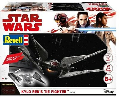 Build & Play Kylo Ren´S Tie Fighter Star Wars The Last Jedi Kit REVELL  RV06760